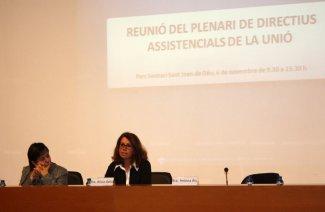 Plenari Directius Assistencials, Alicia Ávila i Helena Ris