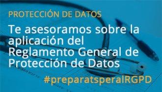 Te asesoramos sobrela aplicación del Reglamento General de Protección de Datos, castellano