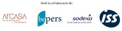 4 logos, Arcasa + Beppers + Sodexo + ISS
