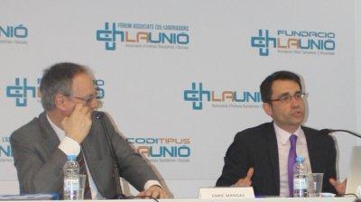Enric Mangas i David Elvira, a la 113 Assamblea General