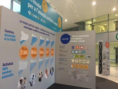Exposició La Unió_Un model de tots per atenció sanitària i social per a tothom