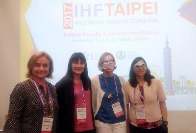 La Unió, al Congrés Hospital IHF Taipei