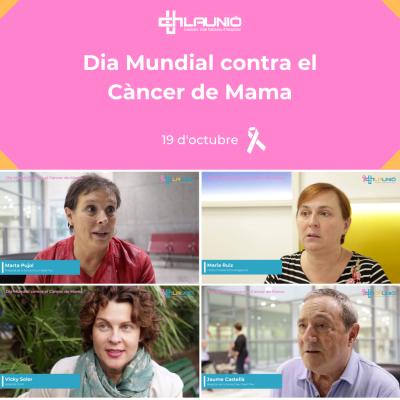 Dia Mundial contra el càncer de mama 2019