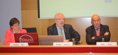 Assemblea maig 2015, Manel Jovells, Helena Ris, Boi Ruiz