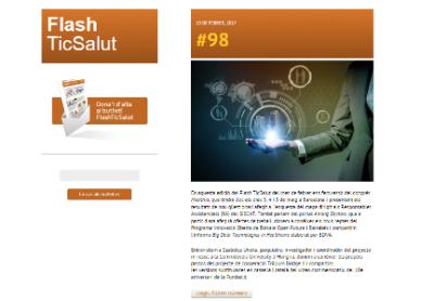 Número 98 de FlashTicSalut