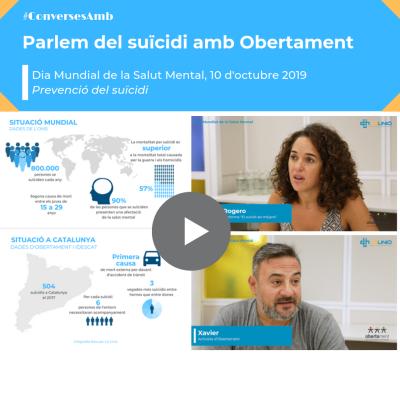Parlem del suïcidi amb Obertament