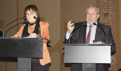 Jornada Associativa desembre 2018, Roser Fernández, Constantí Serrallonga