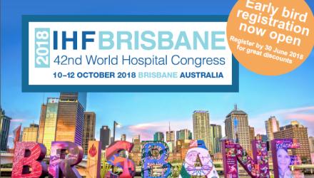 El Congrés Mundial d'Hospitals de Brisbane 2018 dóna a conèixer detalls de les seves activitats