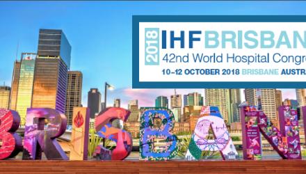 Es posa en marxa el Congrés Mundial d'Hospitals 2018, a Brisbane