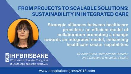 La Unió tindrà una participació destacada al World Hospital Congress d'aquest any