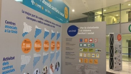 La Unió proposa un recorregut per l'exposició 'Un model de tots per a l'atenció sanitària i social per a tothom'