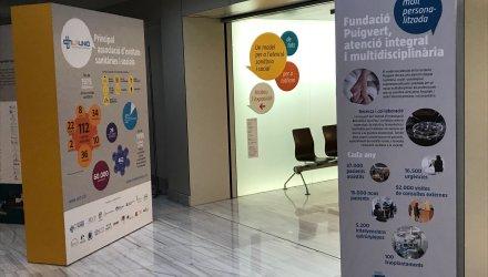 La Fundació Puigvert acull l'exposició 'Un model de tots per a l'atenció sanitària i social per a tothom'