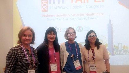 La Unió i els seus associats, al 41è Congrés Mundial d'Hospitals