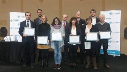 S'entreguen els Premis La Unió a la Innovació en Gestió 2018