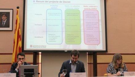 Es presenta el Projecte de Decret de Prescipció Infermera