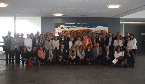 Foto de grup VI Trobada Directius Hospitals de La Unió
