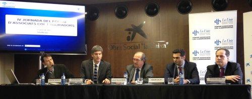 ponents IV Jornada Fòrum Associats Col·laboradors
