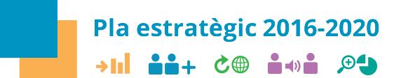 Pla estratègic 2016 - 2020