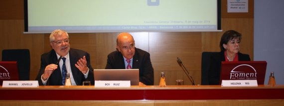 Assemblea General 8 de maig - Manel Jovells