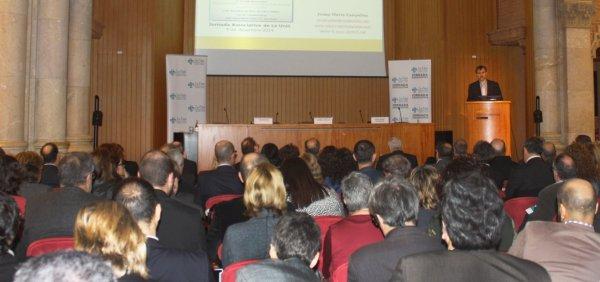 Josep Maria Canyelles a la V Jornada Associativa