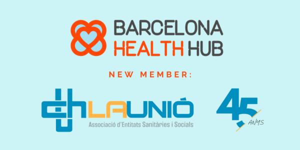 La Unió s'ha adherit a Barcelona Health Hub