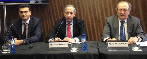 Oscar Calaf i Francesc Busquets, Business T&G, IV Jornada Fòrum Associats Col·laboradors