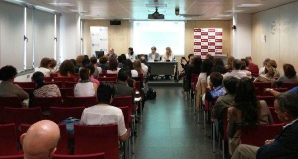 Antoni Trilla, Mireia Jané, Adriana Castro, Lluís Guilera, jornada Ebola