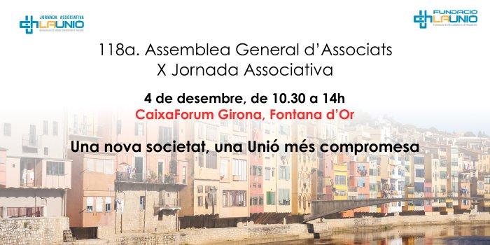 X Jornada Associativa Banner CaixaForum
