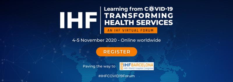Imatge de la Jornada IHF, 4-5 de novembre 2020