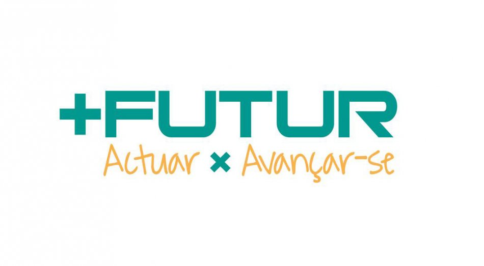 logo +Futur amb lema