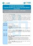 Programa III Jornada Sociosanitària, 18 d'abril