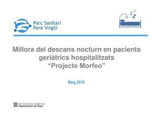 SS Projecte Morfeo - Parc Sanitari Pere Virgili