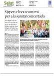 Recull informacions publicades sobre la signatura del II Conveni del SISCAT