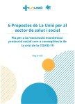6 propostes de La Unió per al sector de salut i social
