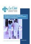 Guia de prevenció de la violència i de l'assetjament al centre de treball en el sector d'Atenció a la Dependència. Octubre 2014