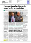 Correo Farmacéutico - Preocupación en Cataluña por las nuevas tarifas farmacológicas