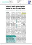 'Polémica por la opacidad de los sueldos en centros concertados'