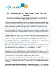 Executive Estudy Tour de Quebec
